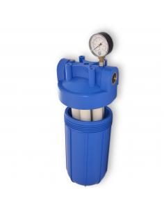 Hauswasserfilter zur Wasserreinigung mit bis zu 3 unterschiedlichen Filtern