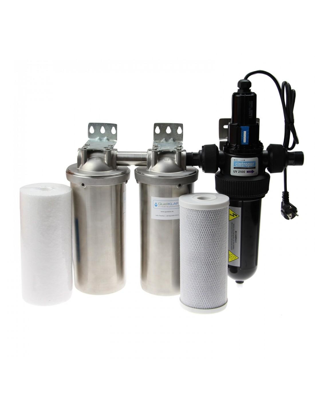 Brunnenwasser desinfizieren