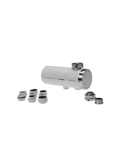 Wasserhahnfilter mit Ultrafiltration. Mit Adapter für den Anschluss an fast alle Wasserhähne