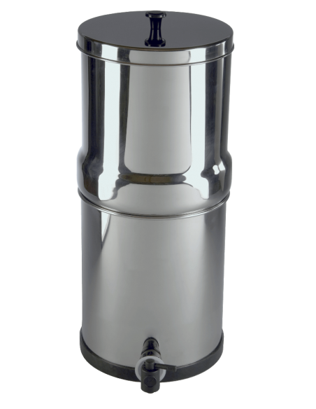Notfall Wasserfilter mit 2x Doulton ATC Super Sterasyl Filterpatronen. Macht bis zu 13L sauberes Trinkwasser pro Tag