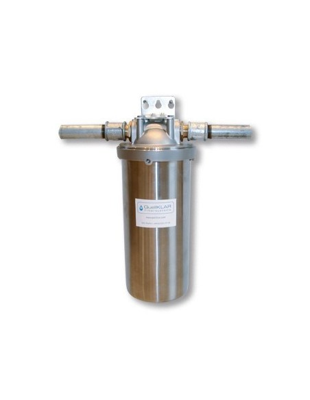 Wasserfilter Gehäuse HA 600 in Edelstahl