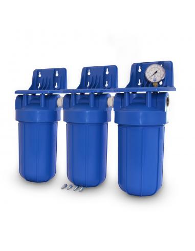 Dreifach Wasserfiltergehäuse