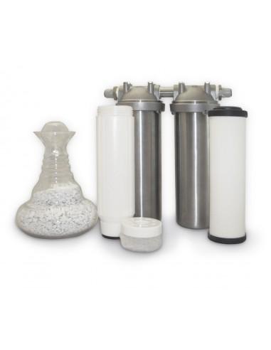 Wasser-Belebungsfilter KS 550 im Edelstahl Gehäuse