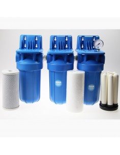 Brunnenwasser / Big Blue Keramik