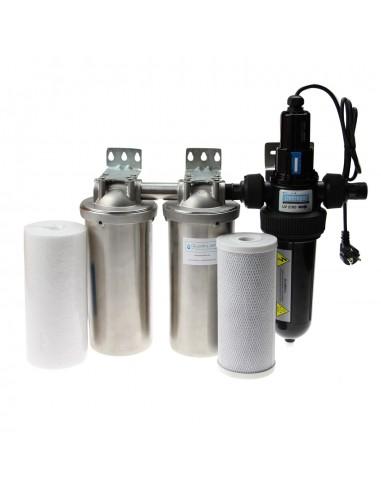 Brunnenwasser / Edelstahl UV