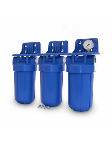 Eisen- Manganfilter mit 3 Filtergehäusen