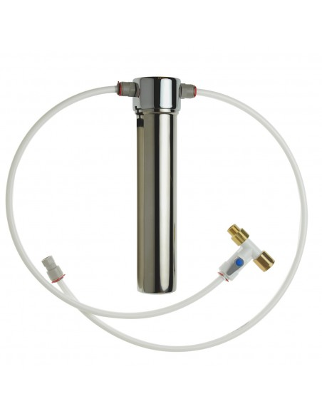 Küchen - Einbaufilter zur Trinkwasserreinigung aus Edelstahl