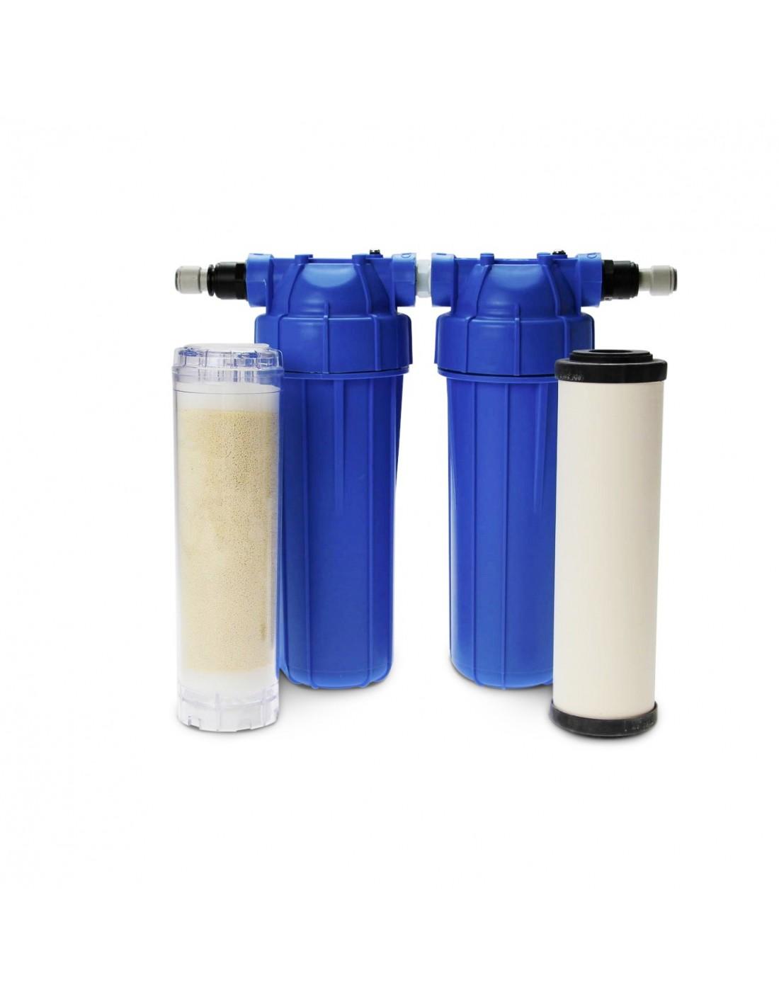 Nitrat-Duo: Küchenfilter mit Resin und Keramik-Aktivkohle