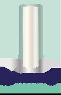 Die Filterpatrone FE 50 wirkt katalytisch gegen Eisen im Wasser